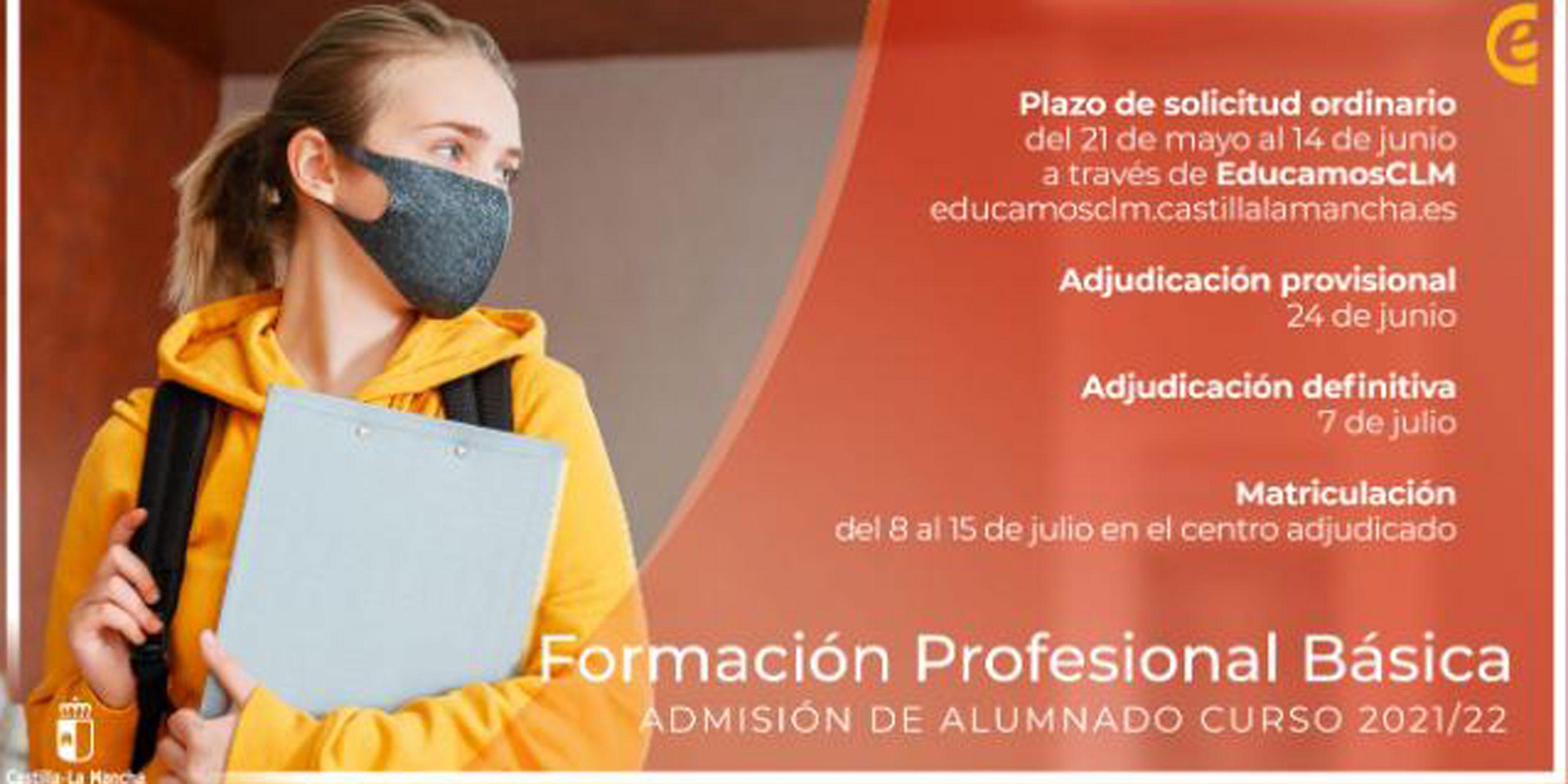 Admisión FP Básica curso 2021-2022